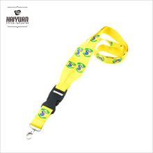 High Quality V Shaped Design Silk Screen Printing Lanyard