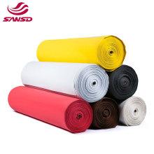 Colorful EVA foam roll Solid Black red white brown beige  Color Universal custom eva foam sheets