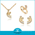 Fantasty Cheap Price Gold Plated Rings and Pendants Jewelry (J-0055)