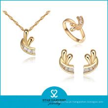 Fantasty Preço Barato Banhado A Ouro Anéis e Pingentes de Jóias (J-0055)