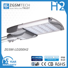 Lm79 Lm80 200W LED Streetlight with Ce CB GS TUV Mark Certificated