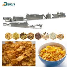 Linha de produção dos flocos de milho dos cereais de Healty