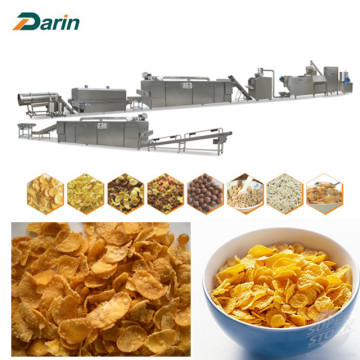 Healty Cereals Corn Flakes Production Line