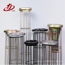 jaula de bolsa de filtro de máquina de soldadura de caja de filtro con venturi