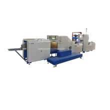 Máquina para fabricar bolsas de papel con fondo cuadrado