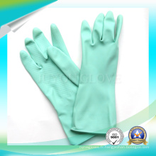 Anti Acid Blue Working Work Waterproof Latex Gloves