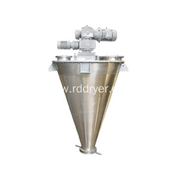 Supplier Cantilever Asymmetric Double Spiral Cone Mixer