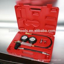 4-tlg. Mehrfunktionszylinder-Druckmessgerät-Kit für Autoreparaturwerkzeuge