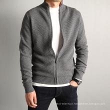 Caxemira de algodão P18B04TR camisola de malha para homens