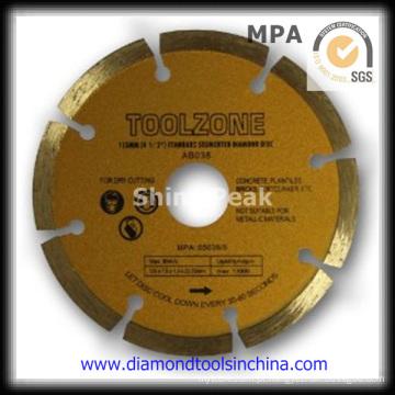Disco de corte de diamante para efeito de corte Mutil