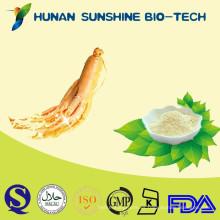 La raíz de Pure Natural Panax Ginseng Powder se utiliza en productos de sexo y cosméticos