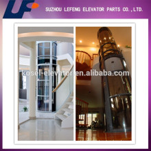 Elevator Parts For Home Elevator Lift/Wood or Glass Elevator Cabin