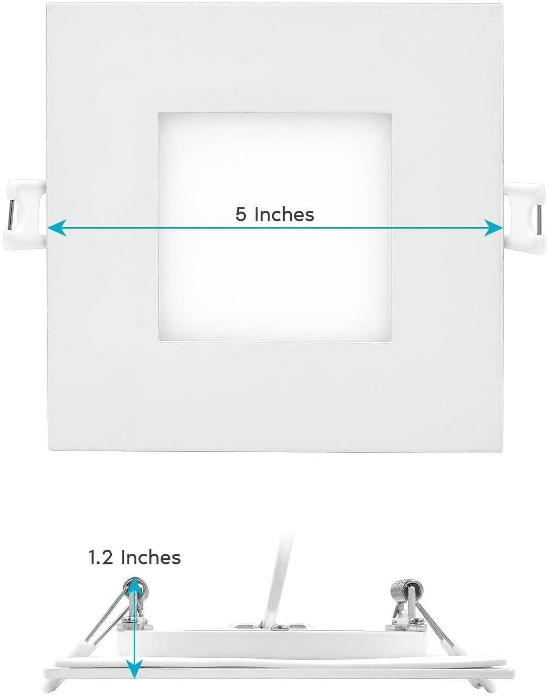 square panel light details1