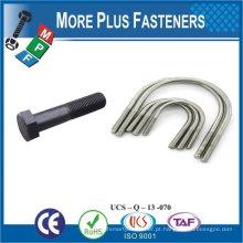 Taiwan Aço inoxidável 18-8 Cobre Latão Latão de alumínio M16 Tamanho do parafuso Tamanho grande U Parafusos Pequenos parafusos Tamanhos