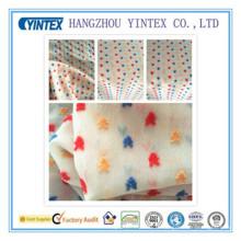 """Tissu en mousseline de soie jacquard 100% polyester fait à la main et tricoté à la main, 75 """"* 75D / 100 * 80"""