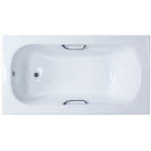 Big Size Cast Iron Bathtub With Handle