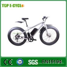 TOP / OEM venta caliente barato bafang mediados de-drive motor grasa neumático barato bicicleta eléctrica