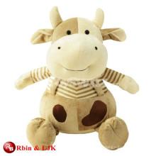 Juguetes promocionales encantadores de la vaca de la felpa