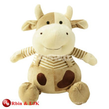 custom promotional lovely plush cow toys