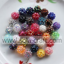 10-22MM perline strass Shamballa Diso