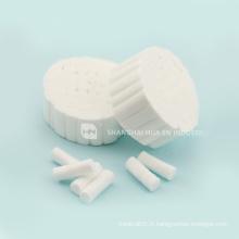 Les prix les moins chers pour les rouleaux de coton médical / dentaire de haute qualité avec 100% coton