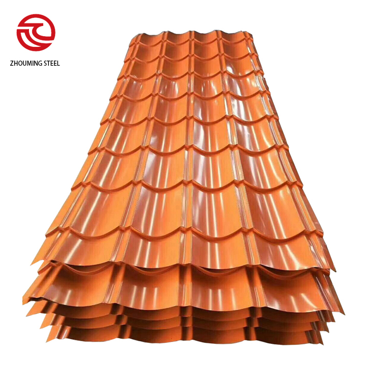 Metal Steel Glazed Tile Roofing Sheet