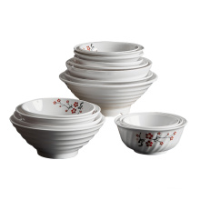 Wholesale high-quality customized china-made plastic tableware melamine tableware customized printing combination package