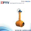 API6d Buried Extension Fully Welded Ball Valve