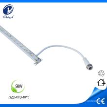 Carcasa de aluminio puro de 9W led de luz lineal para exterior.