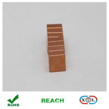N52 Kupfer Beschichtung Quadermagnet für Schmuck