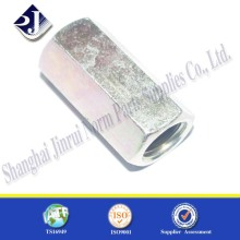 Long Hex Nut Zinc Plated Grade 8