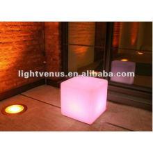 40 cm Factory direct sale rechargeable led sitting cubes