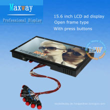 15,6-Zoll-Open-Frame-Digital Signage für LCD-Werbung