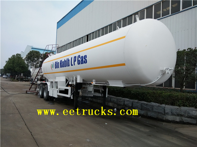 3 Axle Propylene Trailer Transport Tanks