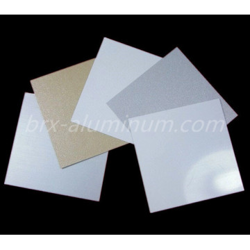Decorative Sandblasted Anodized Aluminum Alloy Sheet