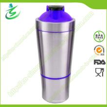 Bouteilles de shaker en acier inoxydable personnalisé de 700 ml