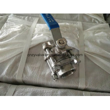 Ss316 Dn25 3pieces NPT Ball Valve