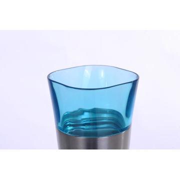 Copo de vácuo de cerveja de aço inoxidável de alta qualidade SVC-400pj azul