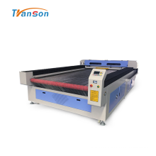Máquina de corte láser de cuero de tela de alimentación automática 1630