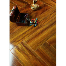 Household 12.3mm Mirror Maple Sound Absorbing Laminate Flooring