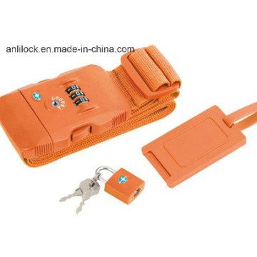 Tsa Strap Lock, Ribbon Lock, Combinaton Lock Al-1063