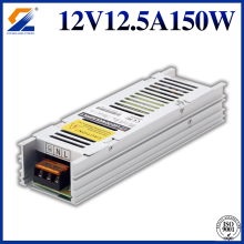 Transformator 12V 150W Slim do oświetlenia LED