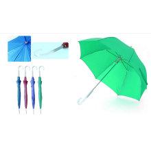 Gerade Birdcage Pearl Regenschirm mit klarem Griff (YS-SM23083880R)