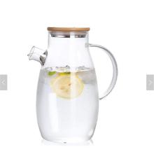 New Good Price Customized Logo Tee-Sets mit Teekanne umweltfreundliches handgemachtes hitzebeständiges Glas