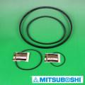 Mitsuboshi Belting wide angle polyurethane V-Belt POLYMAX. Made in Japan (automatic door timing belt)