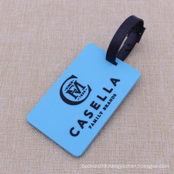 Custom Famous Brand Luggage Tag with Custom Color