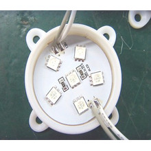 6PCS 5050SMD Module blanc 45 * 45 mm LED