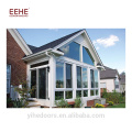 China factory price outdoors glass house for pool with Low-E glass