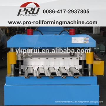 Máquina para fabricar tablas de acero