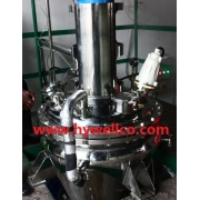 Amber Powder Conical Vacuum Dryer